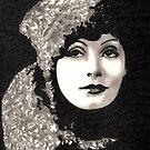 Greta Garbo by Dawn Bigford