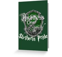 Slytherin Pride Greeting Card