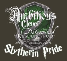 Slytherin Pride by iiNTRIGUE
