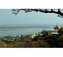 Sagaing, only 50 years of glory  Photographic Print