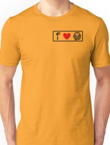 I Heart The Lion King (Classic Logo) Unisex T-Shirt