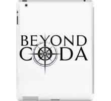 Beyond Coda Dark Logo iPad Case/Skin