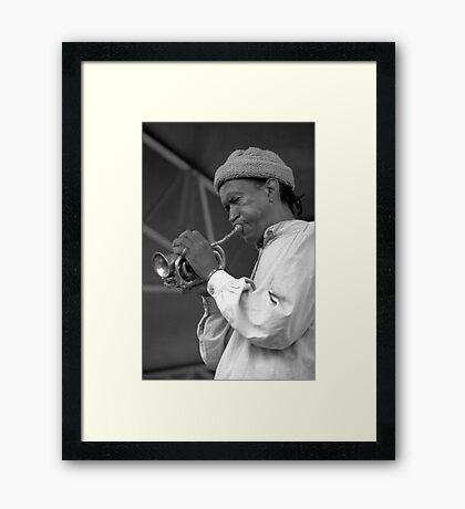 Don Cherry, 1992 Framed Print