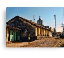Village Mission Canvas Print