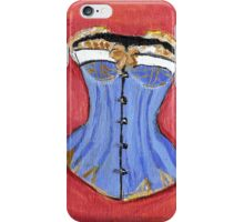 Baby Blue Bustier' iPhone Case/Skin
