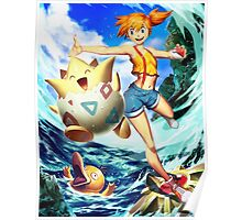 Misty & Togepi Poster