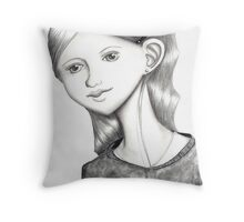 Paper Promise Throw Pillow