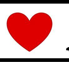 I Heart Little Mermaid (Classic Logo) by ShopGirl91706