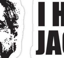 Man In Black Sticker