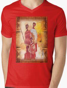 African Indaba - Ethnic series Mens V-Neck T-Shirt