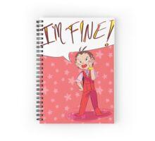 I'M FINE!! Spiral Notebook