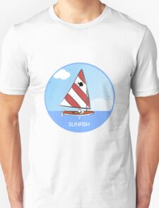 Sunfish Sailboat Unisex T-Shirt