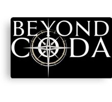 Beyond Coda Light Logo Canvas Print