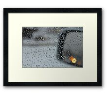 Side View Mirror Framed Print