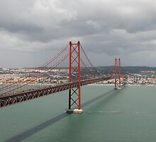 Bridge in Lisbon by julie08