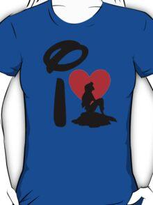 I Heart Little Mermaid T-Shirt