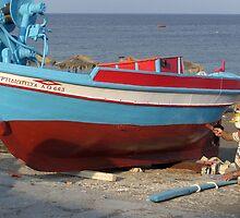 Fisherman by Annbjørg  Næss