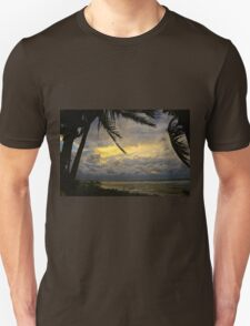 Stormy Skies in Paradise Unisex T-Shirt