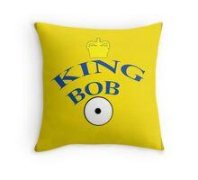 King Bob Throw Pillow