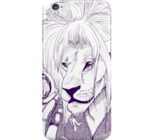 Goblin King of the Jungle (Blue Line) iPhone Case/Skin