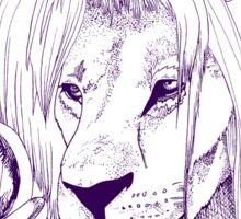 Goblin King of the Jungle (Blue Line) Sticker
