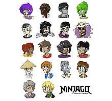Ninjago Season 4  Photographic Print