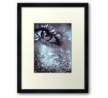 eye dream Framed Print