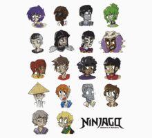 Ninjago Season 4  One Piece - Long Sleeve