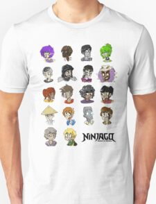 Ninjago Season 4  Unisex T-Shirt