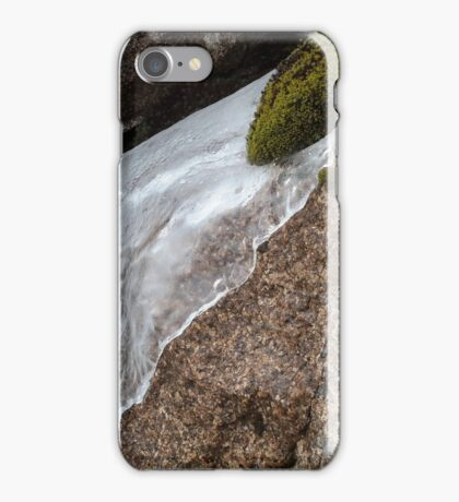 ice on the rocks!! iPhone Case/Skin