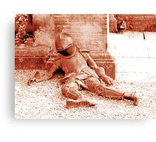 Fallen Soldier, Harewood House Canvas Print