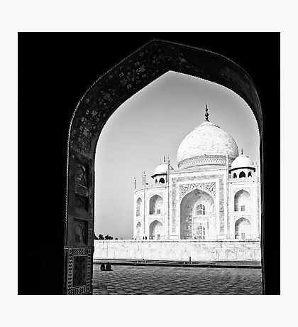 A Mahal with a view - Taj Mahal Photographic Print