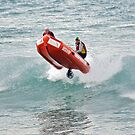 TL at Lorne taking air by Andy Berry