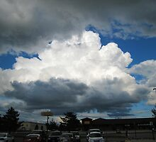 Storm Clouds in the Distance by Elizabeth Bennefeld