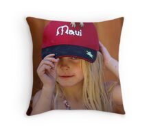 Chippy Is Nuts About Her! #2 Throw Pillow