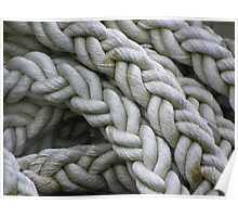 Nautical Rope Poster