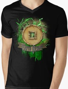 Earth Bender Mens V-Neck T-Shirt