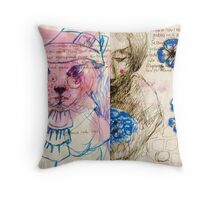 Journal page-Dream Throw Pillow