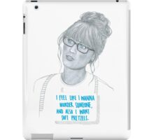 Zooey Deschanel iPad Case/Skin