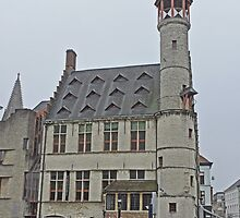 The Turret, Ghent, Belgium by Margaret  Hyde