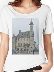 The Turret, Ghent, Belgium Women's Relaxed Fit T-Shirt