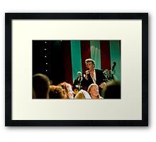 Gerry Fish And The Mudbug Club Framed Print
