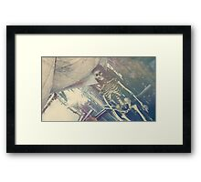 Adventure Bones Framed Print
