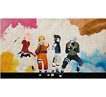 Team 7 - Naruto Photographic Print
