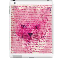 Journal page-Cat iPad Case/Skin