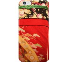 The red kimono iPhone Case/Skin