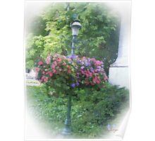 Lamp Post Garden #2 Poster