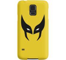 Wolverine Mask Minimalist Samsung Galaxy Case/Skin