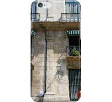 Balconies in Havana, Cuba iPhone Case/Skin