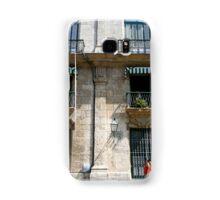 Balconies in Havana, Cuba Samsung Galaxy Case/Skin